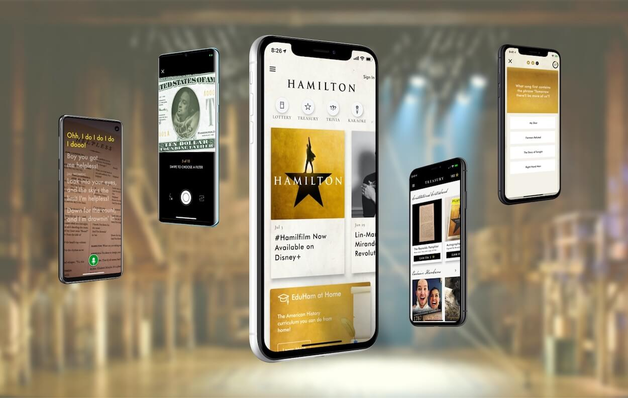 The First Commercial Flutter App Makes Exclusive Hamilton Musical Content Accessible to All