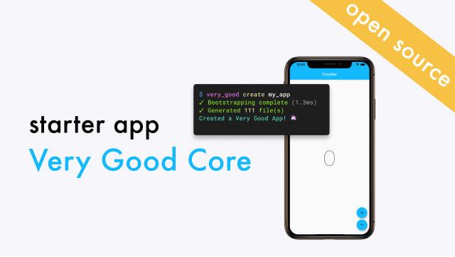 Flutter Starter App: Very Good Core & CLI
