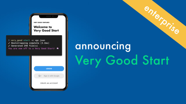 Announcing Very Good Start: Scalable Flutter Starter App and Codebase