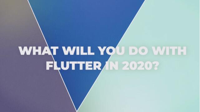 Flutter Inspiration Showcase for 2020