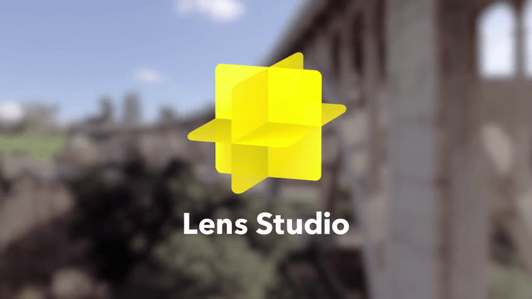 The Snapchat yellow Lens Studio Icon