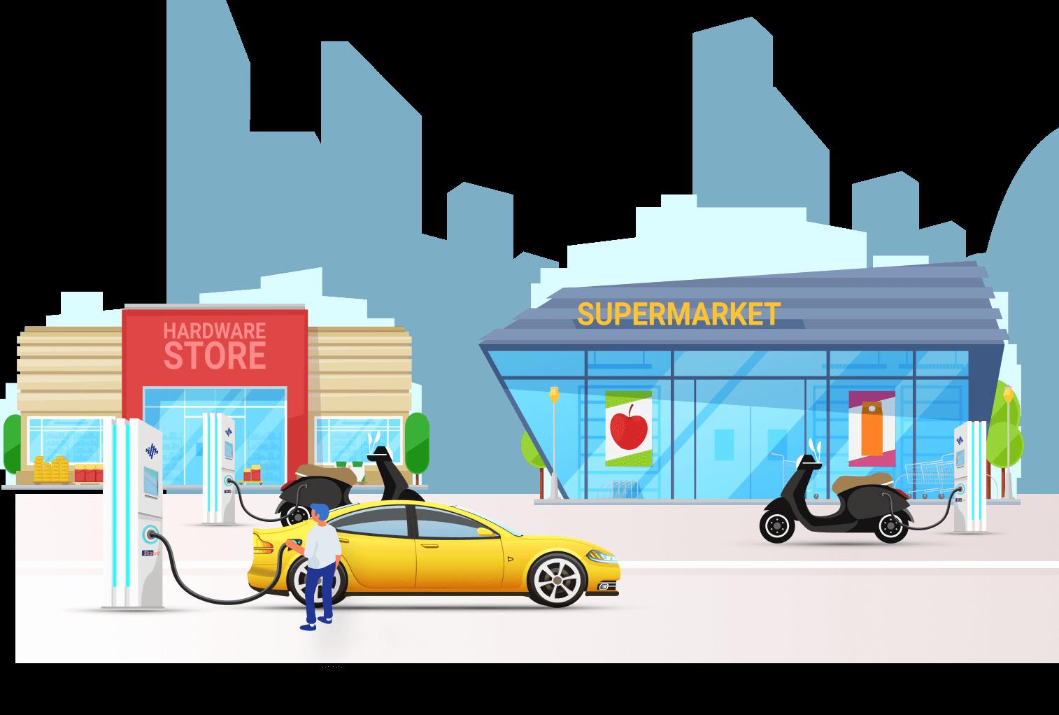 EV charging station manufacturers | Statiq