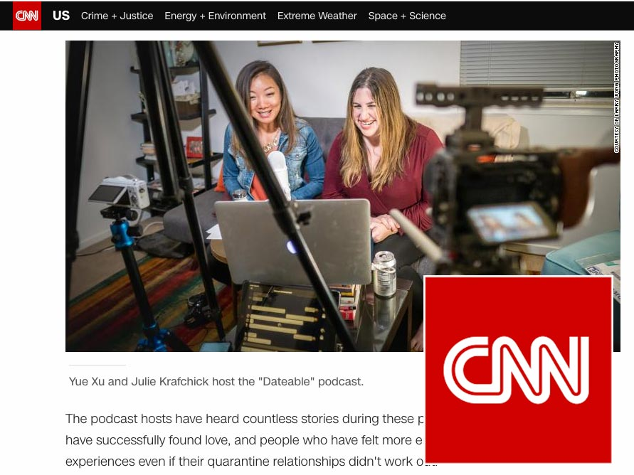 Dateable featured in CNN photo