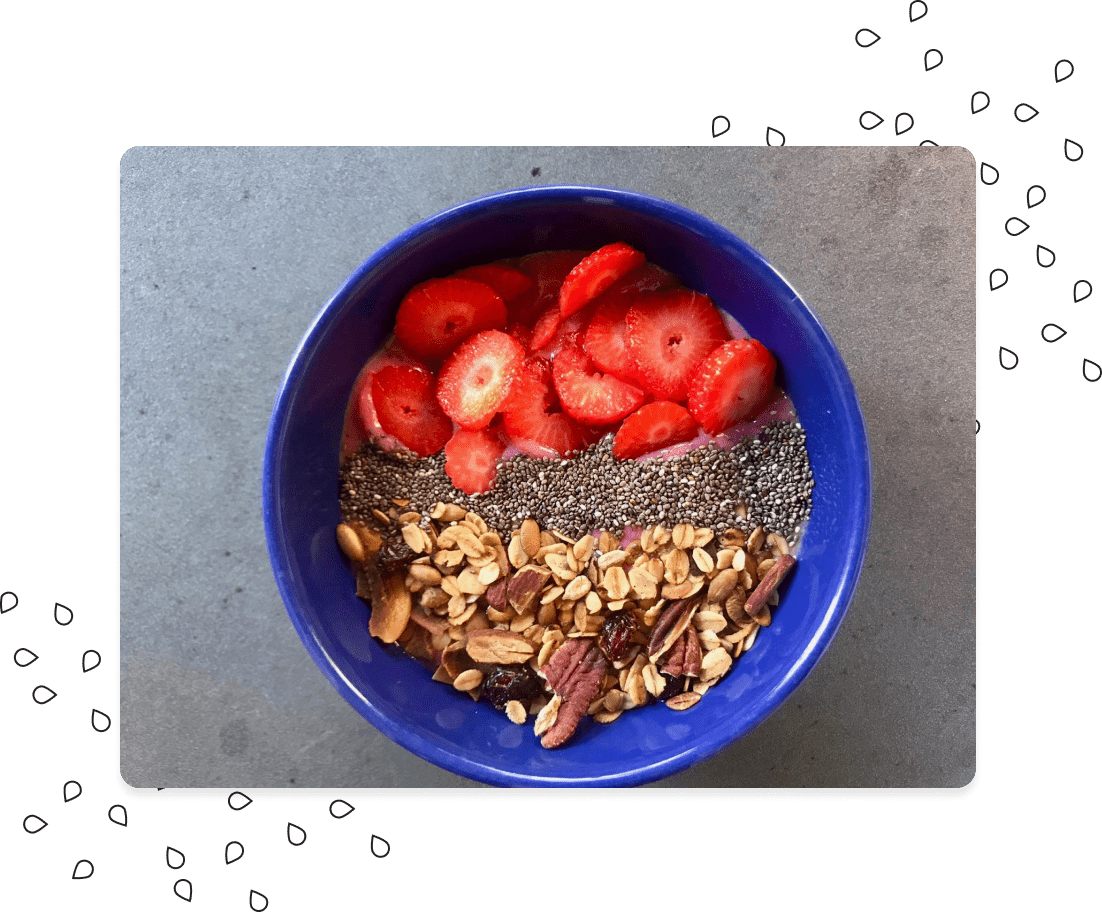 Alessandra's bowl with Clemi's Granola