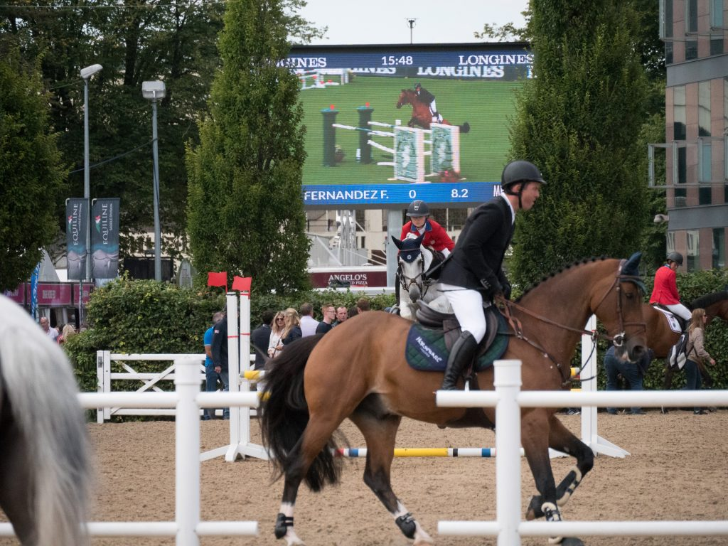 The Dublin Horse Show - Ion Solutions LED screen