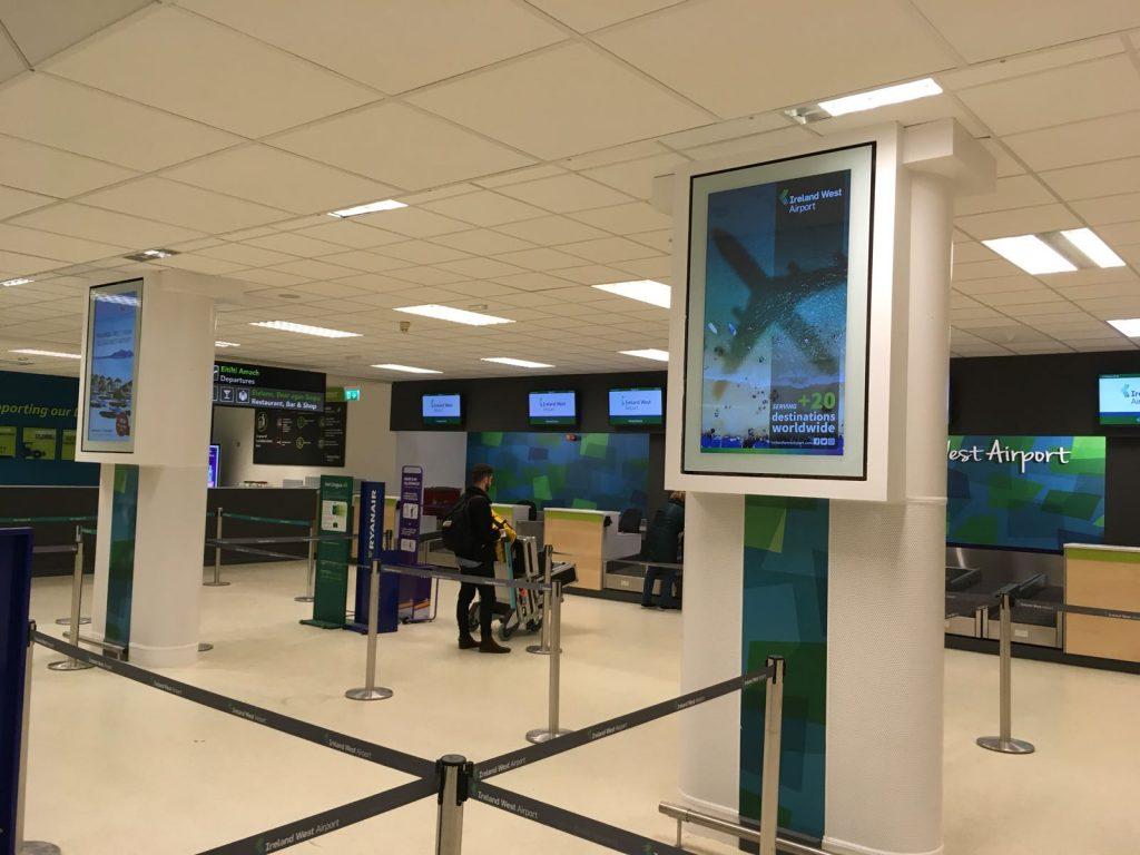 Ireland West Airport Digital Signage
