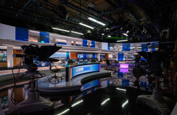 Ion Solutions Supplies And Installs State-of-the-Art Technology Upgrades To RTÉ News Studio