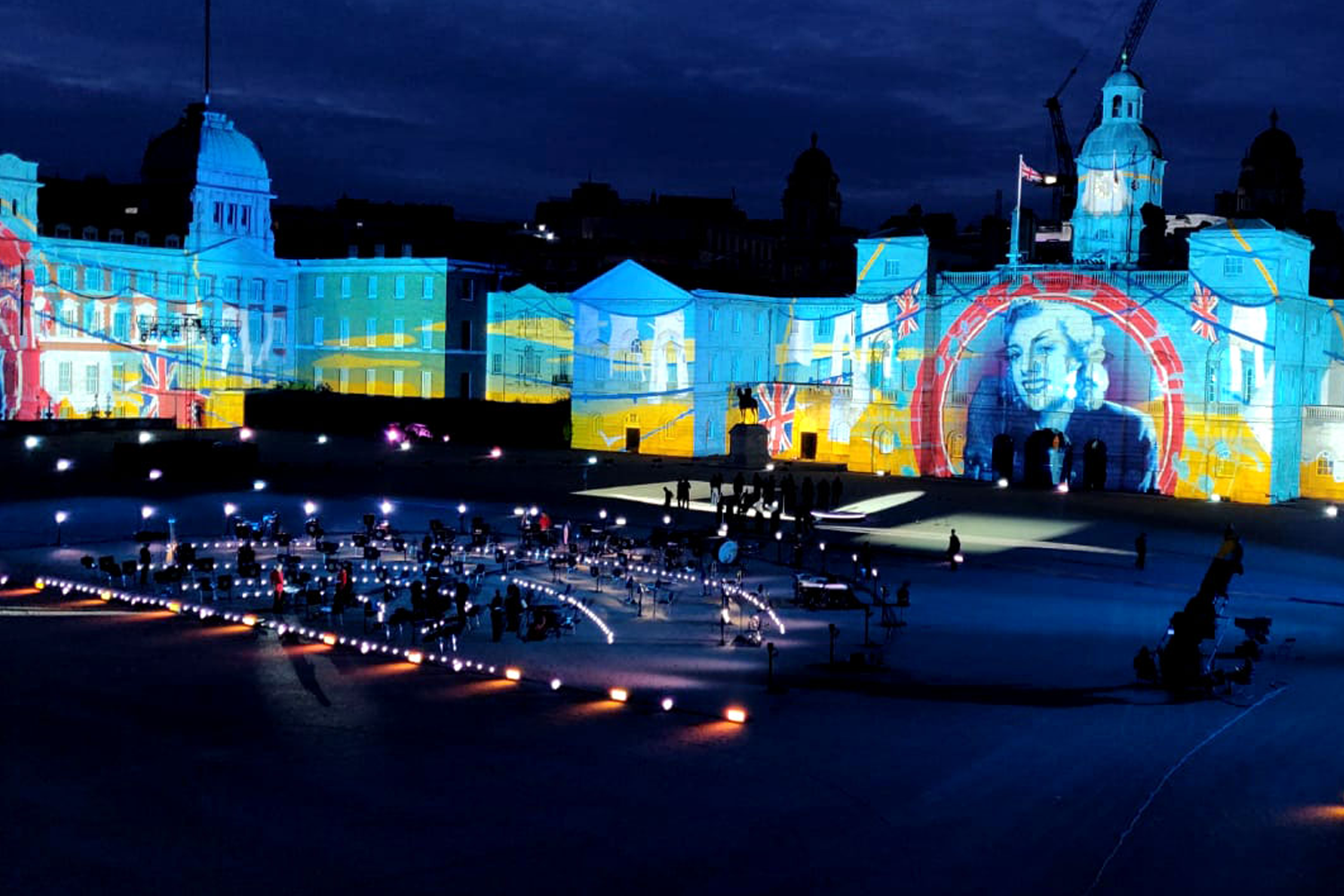 CT bring the Horse Guards Parade to Life for VJ Day