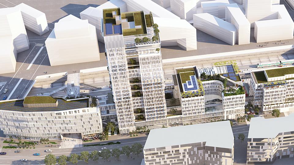 Commande de près d'1 million d'euros pour le futur siège de Vinci