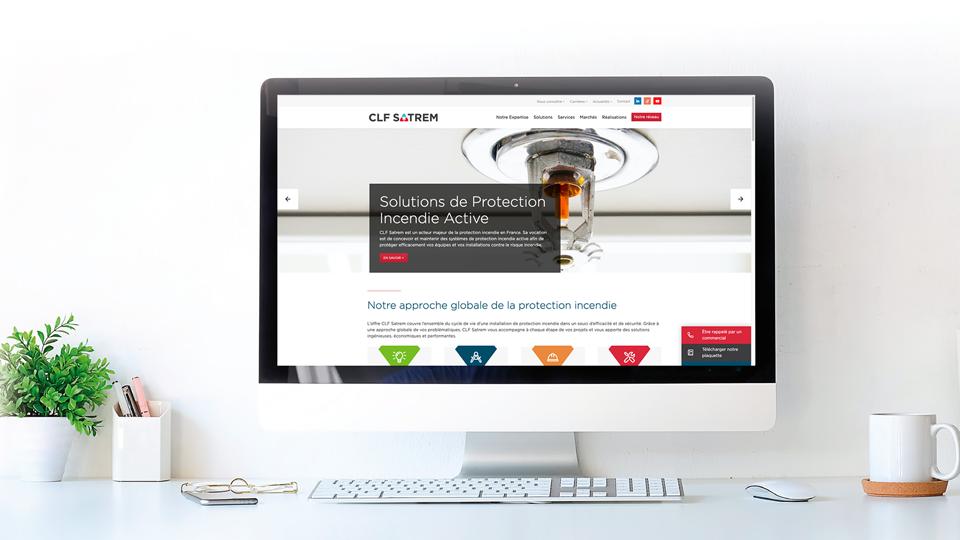 Nouvelle identité et nouveau site web pour CLF Satrem