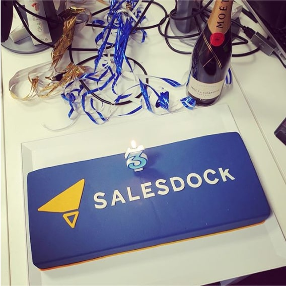 Salesdock 3 years birthday