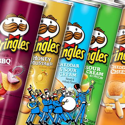 Pack défilé de Pringles