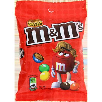 M&M's beurre de cacahuète gros sachet (144g)