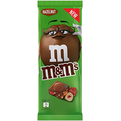 Tablette M&M's aux noisettes (165g)