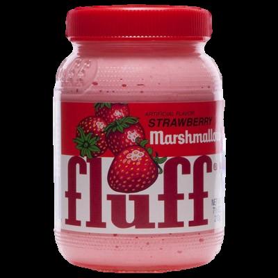 "Fluff ""Marshmallow"" à tartiner fraise (213g)"
