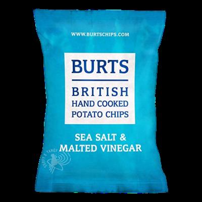 "Burts Hand Cooked Crisps ""Malt Vinegar"" (150g)"