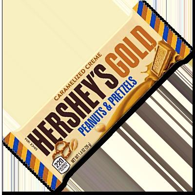"""Hershey's Gold """"Peanuts & Pretzels"""" (39g)"""