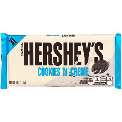 "Hershey's ""Cookies & Cream"" (43g)"