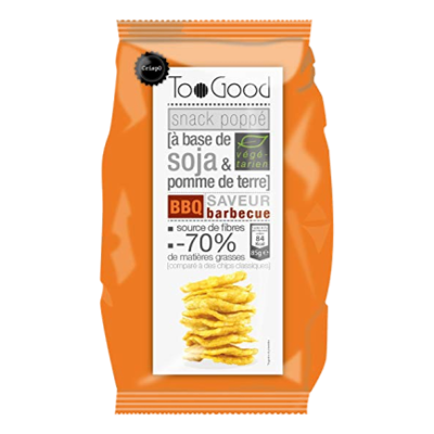 """TooGood snack """"poppé"""" barbecue (85g)"""