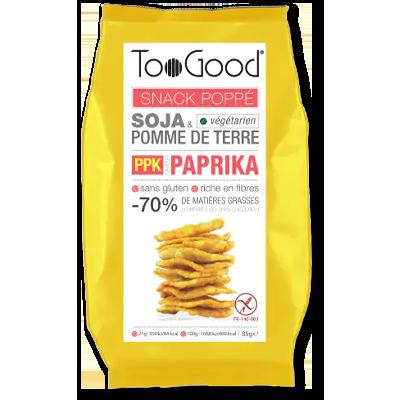 """TooGood snack """"poppé"""" paprika (85g)"""