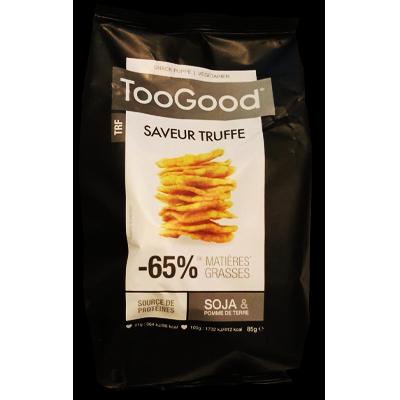 """TooGood snack """"poppé"""" à la truffe (85g)"""