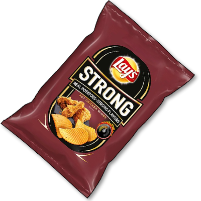 "Lay's Crisps ""Strong Hot Chicken Wings"" (150g)"