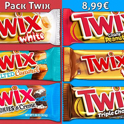 Pack découverte Twix (240g)