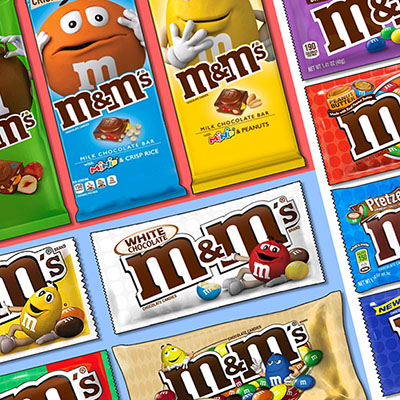 Pack fan absolu de M&M's USA (1044g)