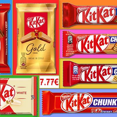Pack découverte KitKat