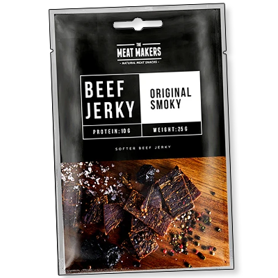 "The Meat Makers ""Snack Original Smoky"" (25g)"