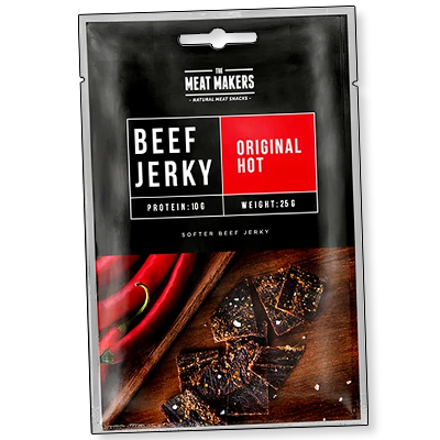 "The Meat Makers ""Snack Original Hot"" (25g)"