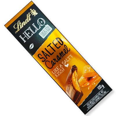 "Lindt Hello tablette ""Salted Caramel"" (100g)"
