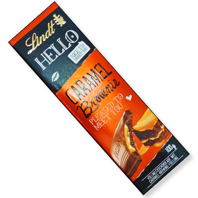 "Lindt Hello tablette ""Caramel Brownie"" (100g)"