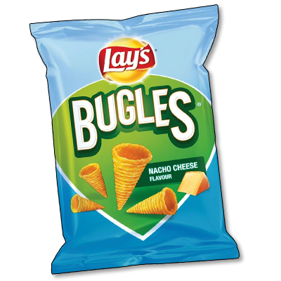 "Lay's Bugles ""Nacho Cheese"" (100g)"