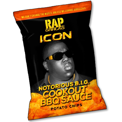 "RAP Snacks ""B.I.G. Cookout BBQ"" (78g)"