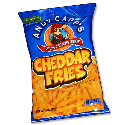 "Andy Capp's ""Oven Baked Cheddar Fries"" (85g)"