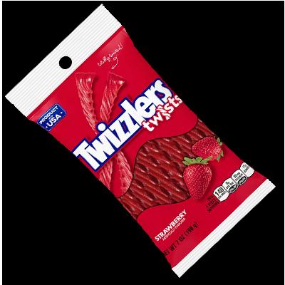 """Twizzlers """"Twists"""" à la fraise XL (198g)"""