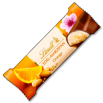 "Lindt ""Marzipan"" à l'orange (50g)"