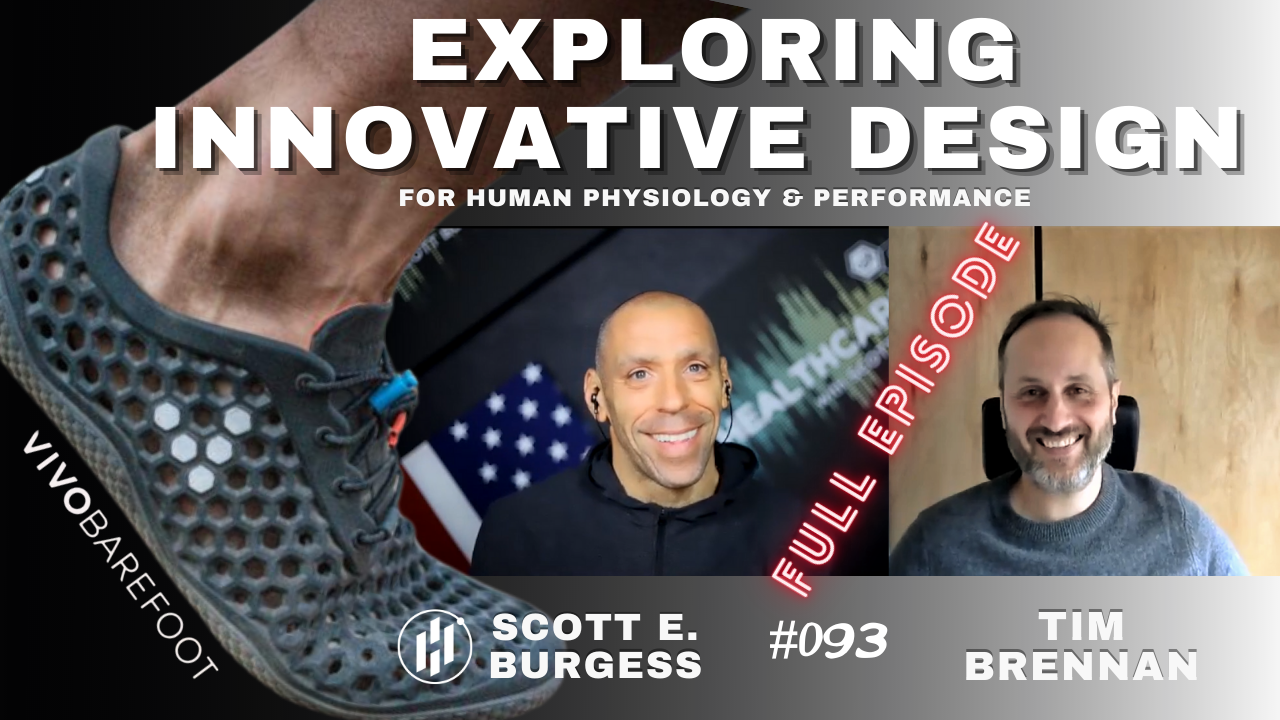 HC360 #093 Designs that Make a Real Difference with Vivobarefoot Inventor Tim Brennan