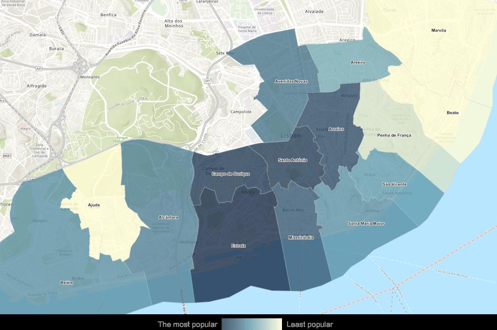 lisbon nomad map