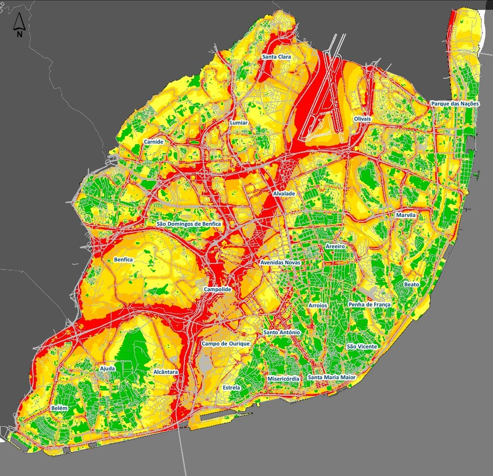 lisbon noisy map