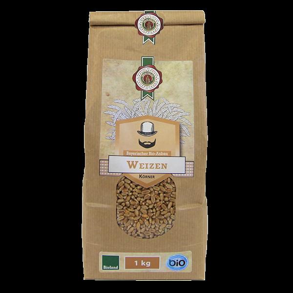 Bio Weizen Körner