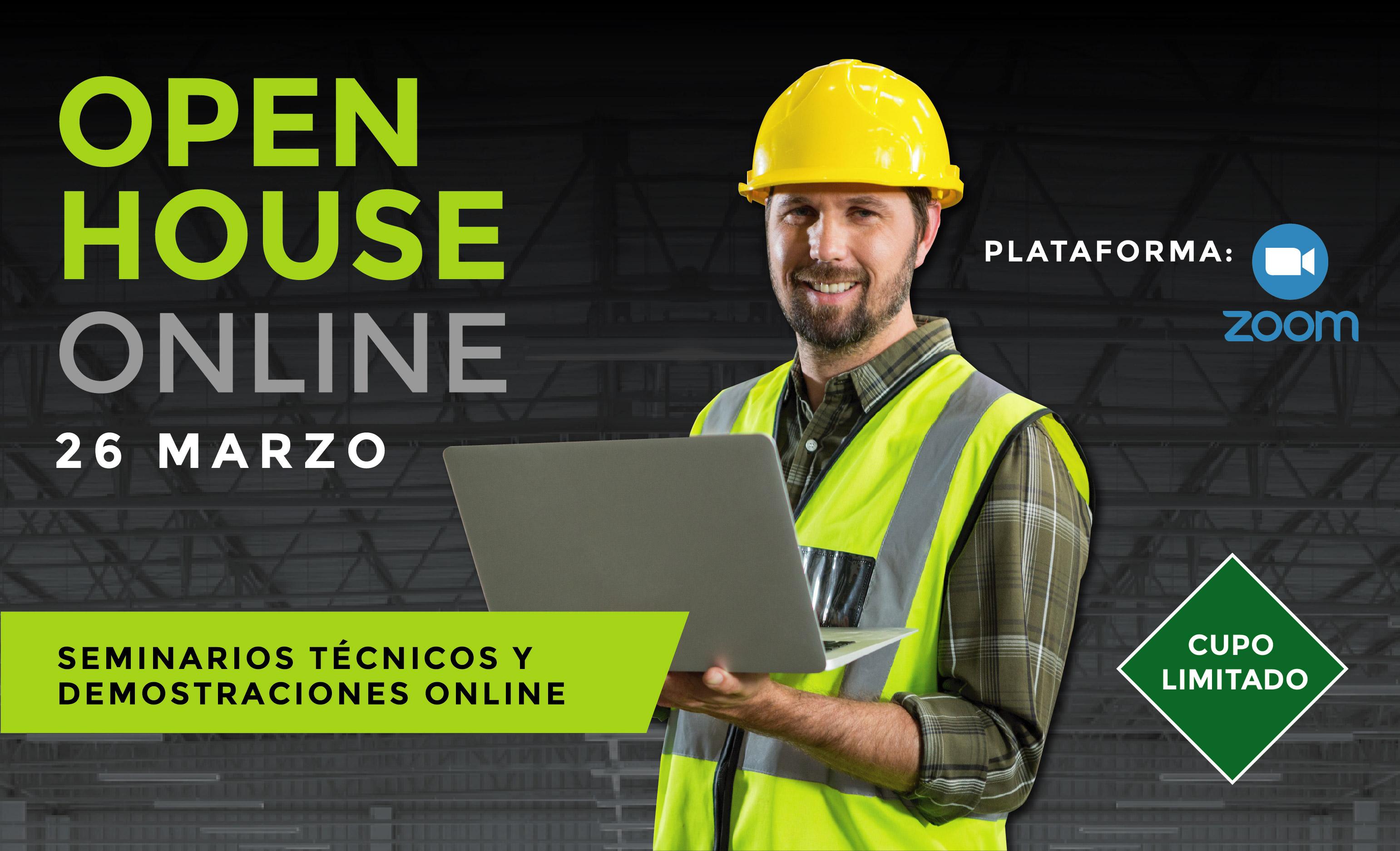 OPEN HOUSE ONLINE - 26 MARZO 2021