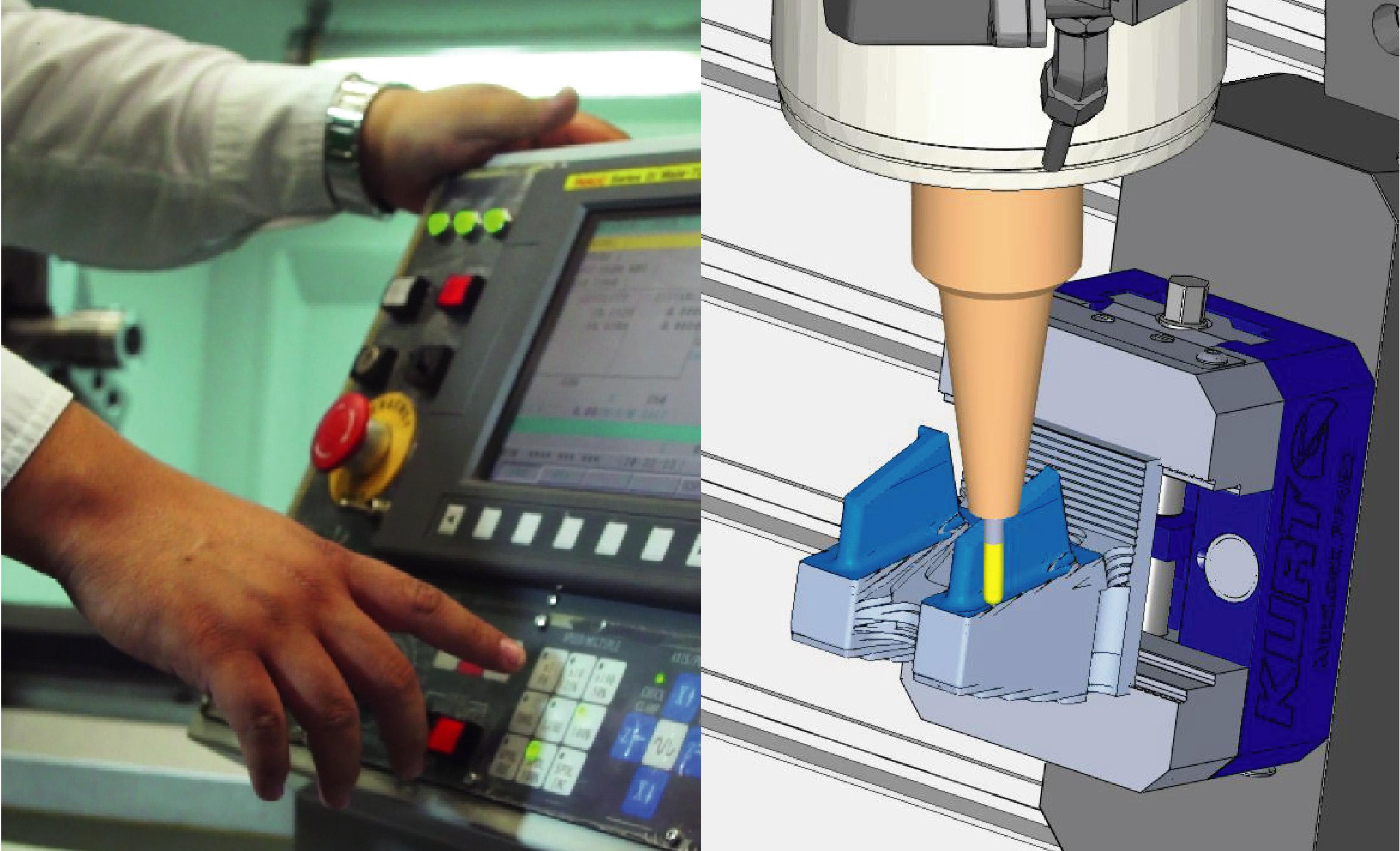 SETEC Online: Operación Básica del CNC (Centro de Maquinado y Torneado) / Maquinado de Moldes con Cimatron 5 Ejes