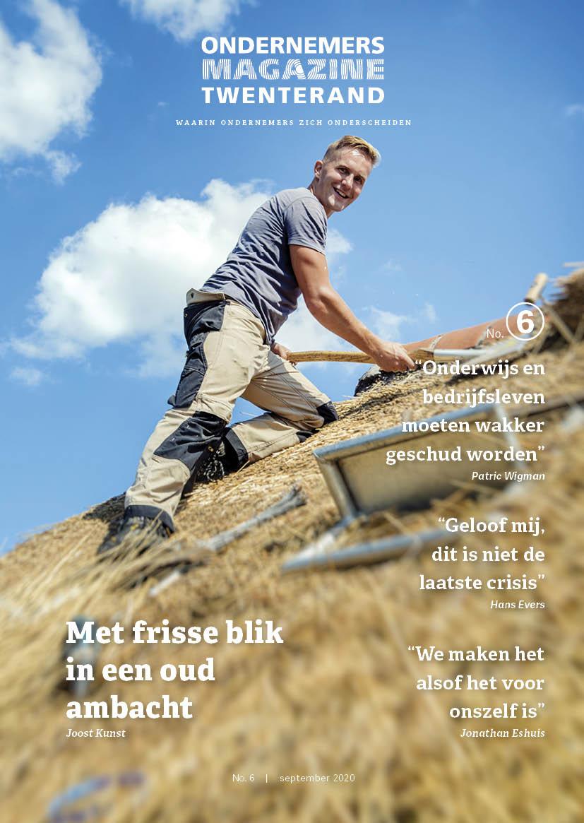 Cover Ondernemersmagazine Twenterand Joost Kunst