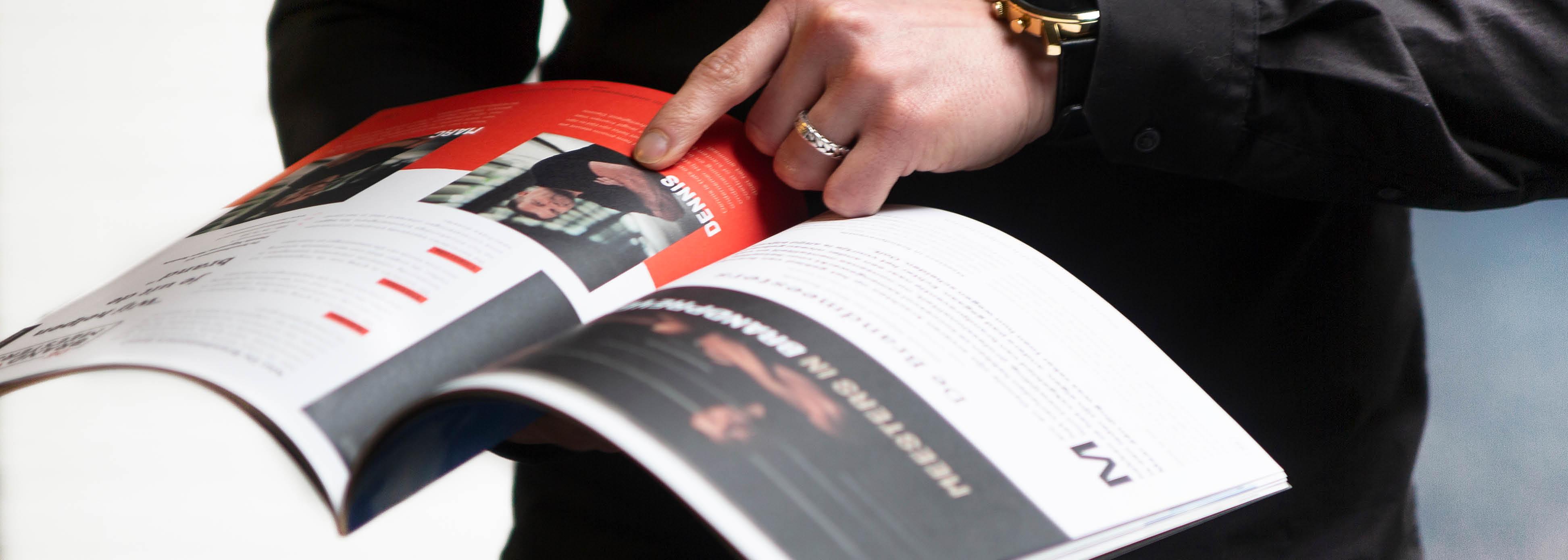 Foto van het ondernemersmagazine