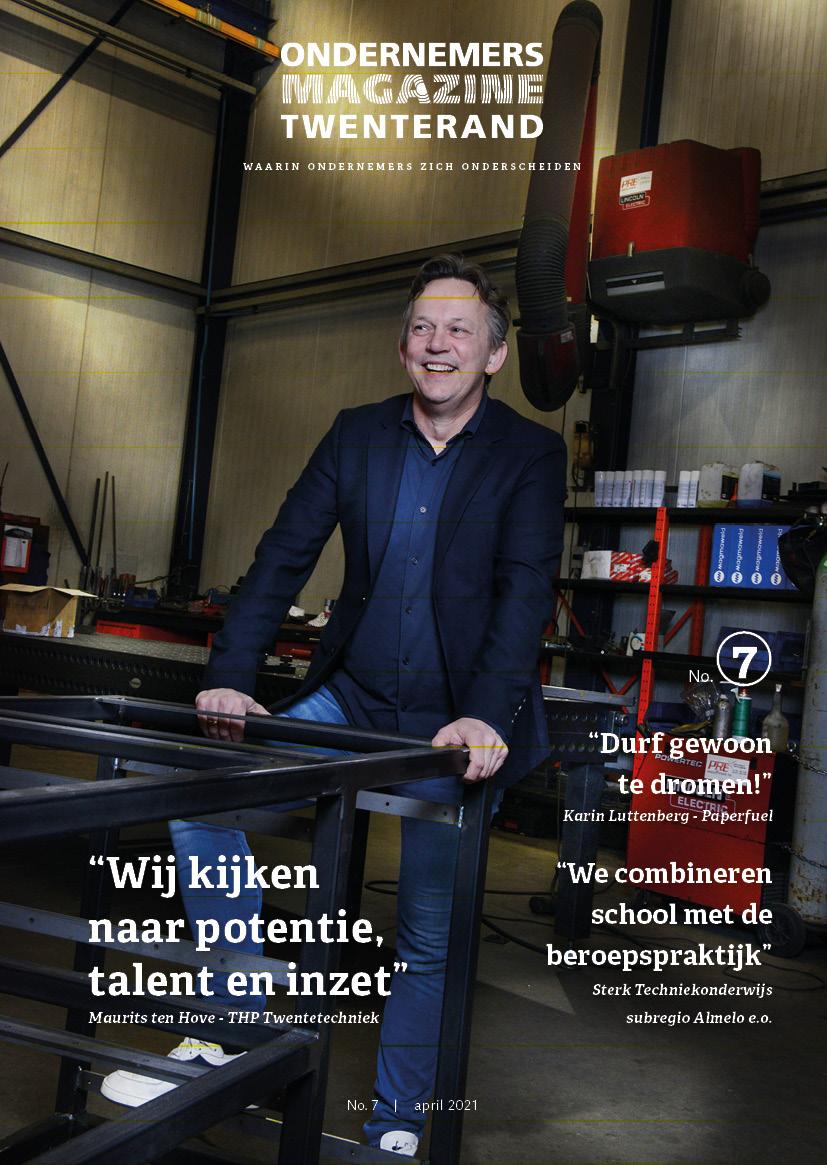 Cover Ondernemersmagazine gemeente Twenterand editie 7