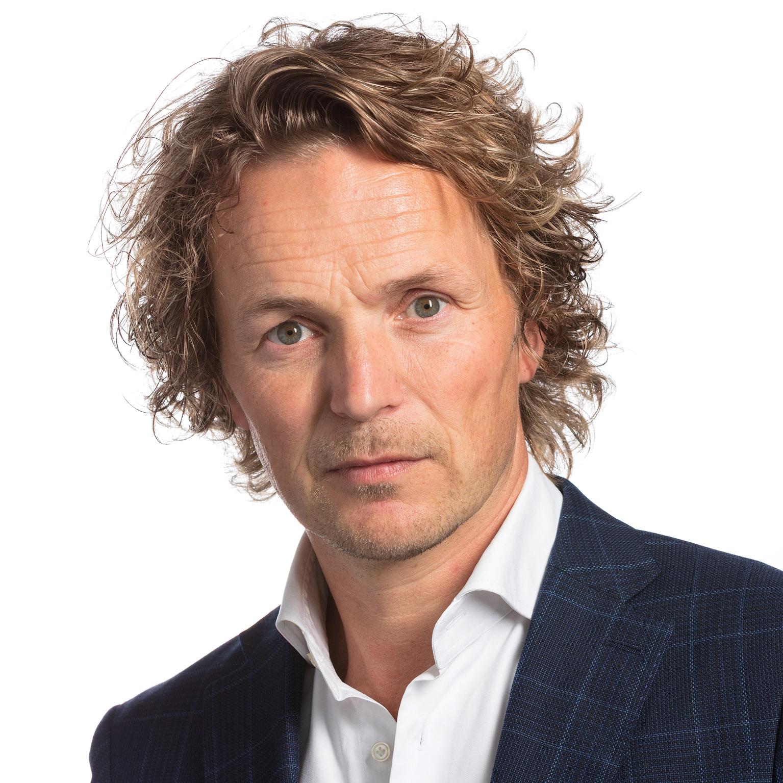 Rik Nijkamp, presentator podcast De Brandcast
