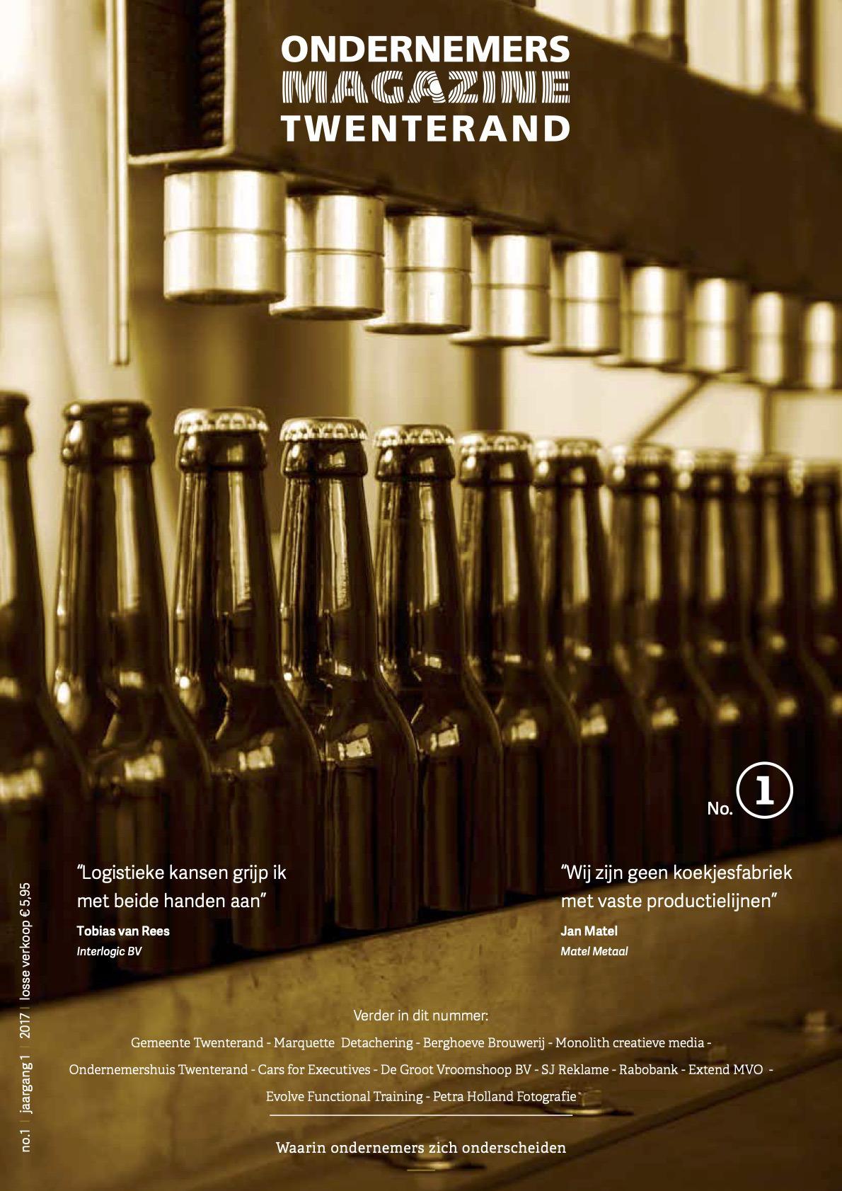 Cover ondernemersmagazine Twenterand 1