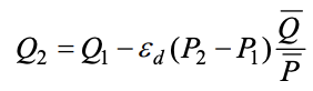 Quantity Sold Equation Based on Discount Rate
